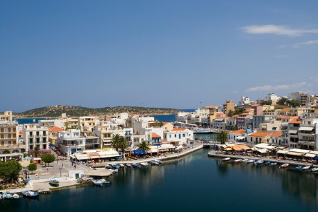 dreamstime_5823579_The landscape of Agios Nikolaos, Crete, Greece